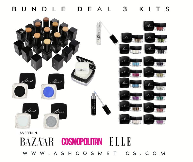 PRO - 3 KIT BUNDLE DEAL - Ashcosmetics