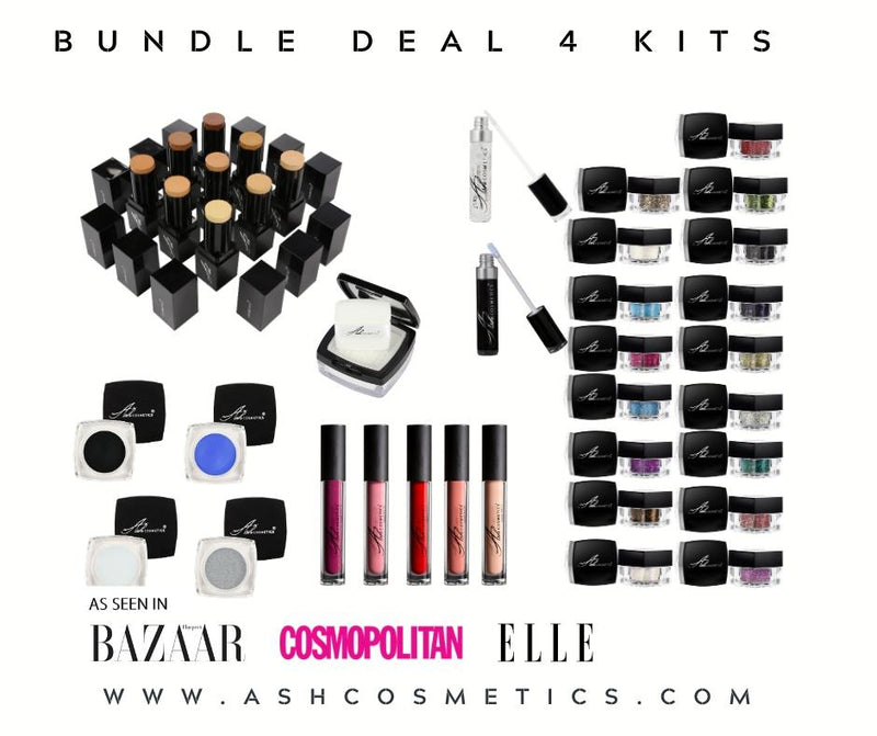 AshcosmeticsPRO - 4 KIT BUNDLE DEAL