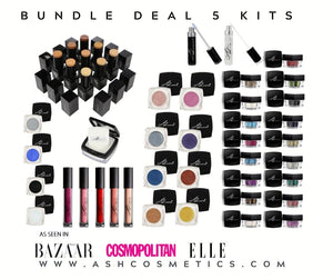 AshcosmeticsPRO - 5 KIT BUNDLE DEAL