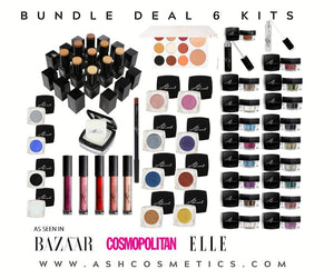 PRO - 6 KIT BUNDLE DEAL - Ashcosmetics