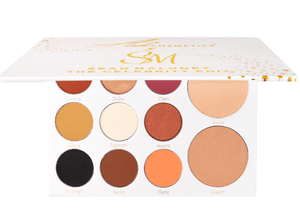 THE CELEBRITY EDIT EYE AND FACE PALETTE - Ashcosmetics