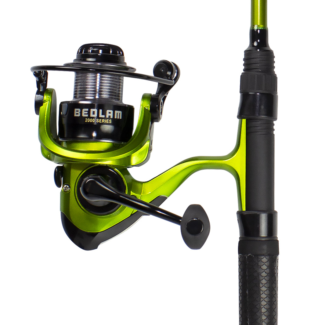 Bedlam Spinning Rod Combo