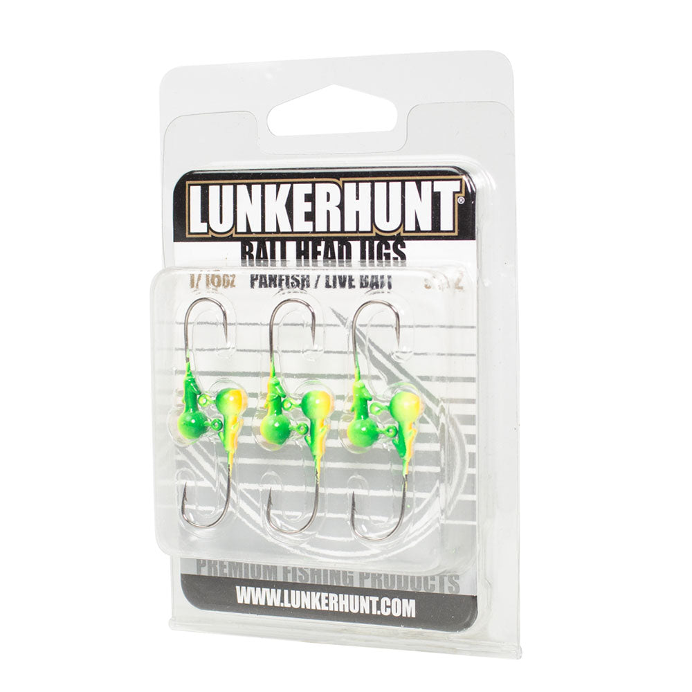 Terminal Tackle - Panfish/Live Bait Ball Head Jig