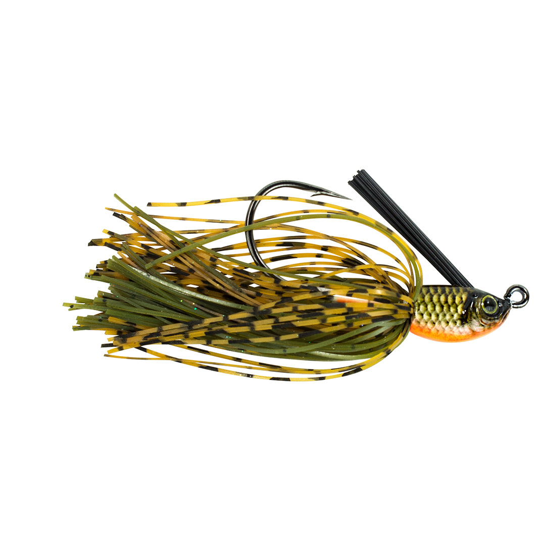 Natural Skirted Swim Jig