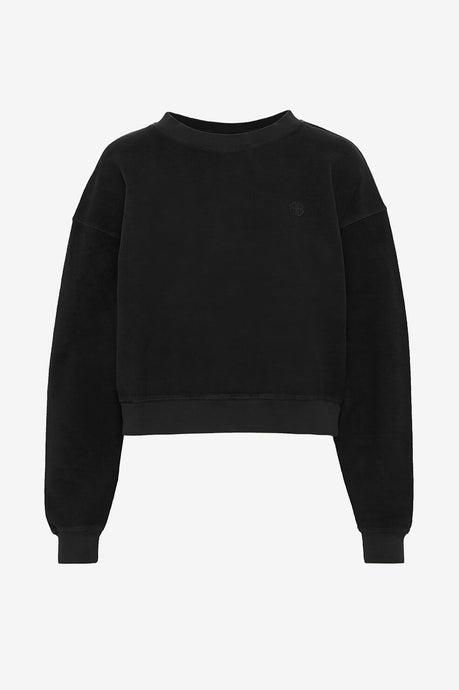 Reed Black Sweatshirt fra Anine Bing