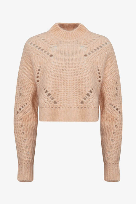 Jordan Sweater Peach fra Anine Bing