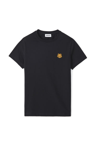 Classic fit Navy Tiger Crest T-shirt - Kenzo