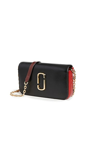 Marc Jacobs - Wallet on Chain Black