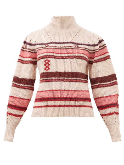Georgie Light Pink Knit sweat - Isabel Marant Étoile