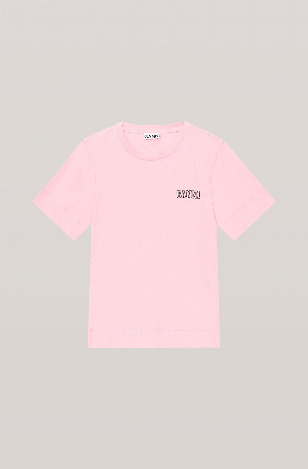 Ganni Software T-shirt Pink