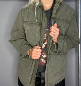 Joey Jacket army Green fra Anine Bing