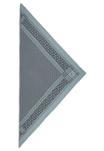 S Triangle monogram - Cashmere Scarf fra Lala Berlin