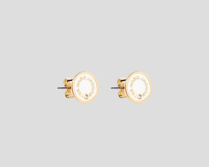 Marc Jacobs - Madallion Studs Cream