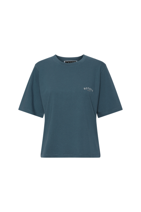 Rotate Sunday Aster T-shirt Blue
