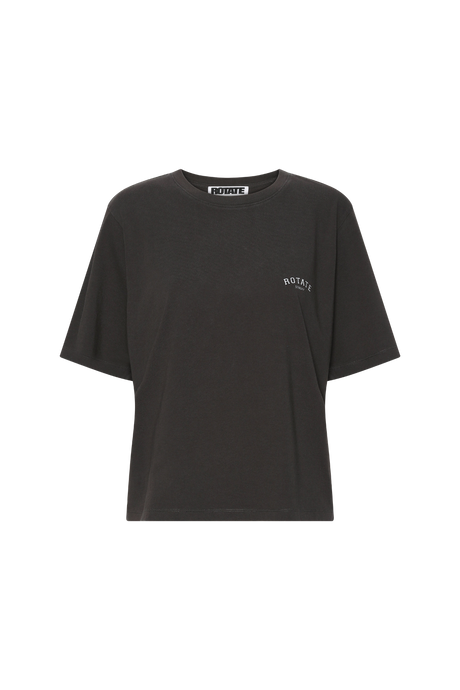 Rotate Sunday Aster T-shirt Raven