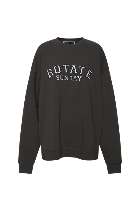 Rotate Sunday Iris Crew Neck Raven