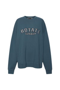 Rotate Sunday Iris Crew Neck Blue