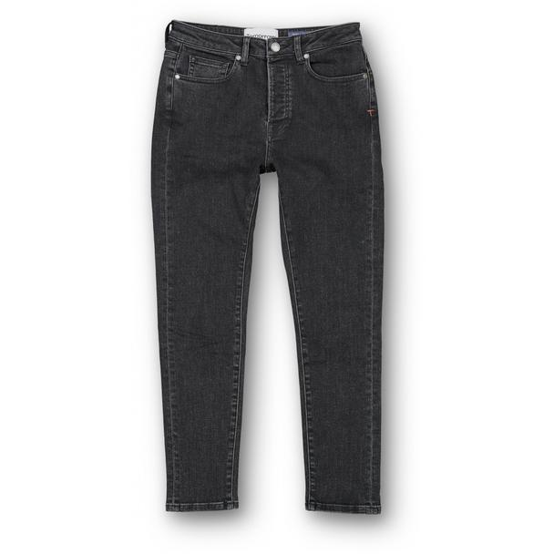 Hepburn HW Mom Jeans i Sort fra Tomorrow-Denim