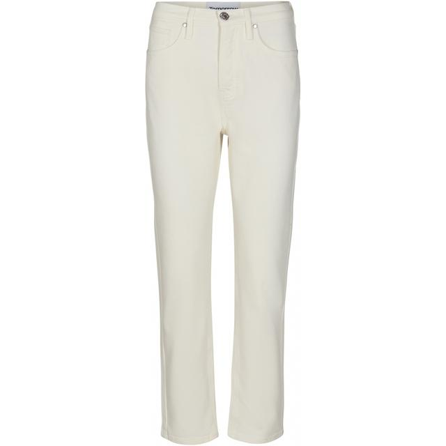 Teresa regular jeans i Hvid fra Tomorrow-Denim