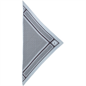 XS Triangle Yacht - Cashmere Scarf fra Lala Berlin
