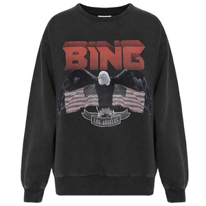 Eagle vintage Sweat sort fra Anine Bing