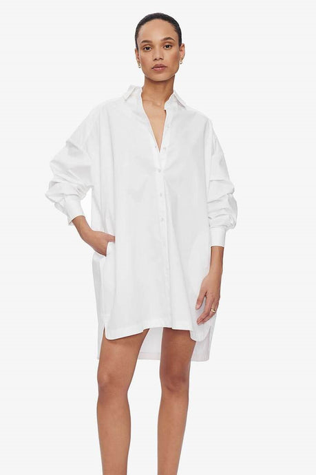 Aubrey Shirt Dress - Anine Bing