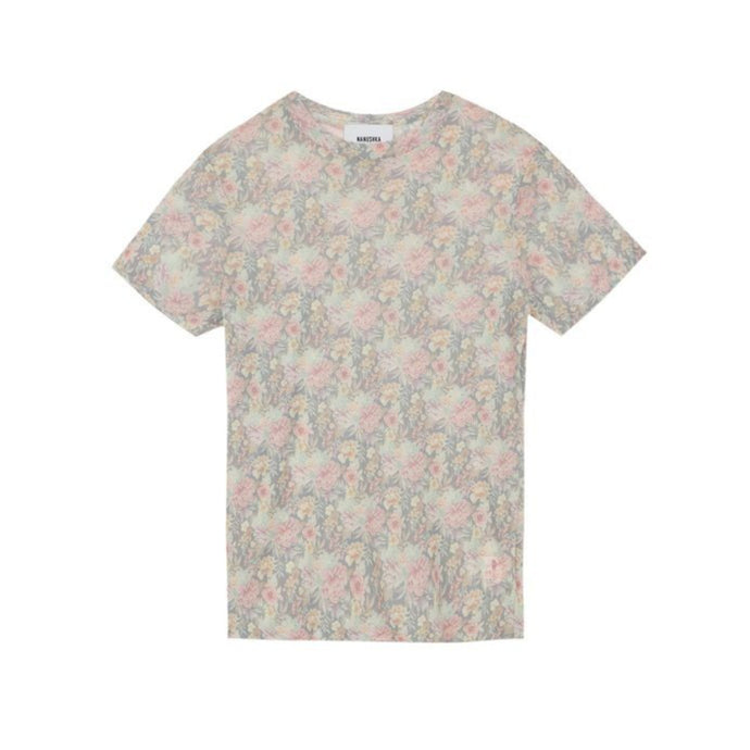 Guy Flower Mesh T-shirt fra Nanushka