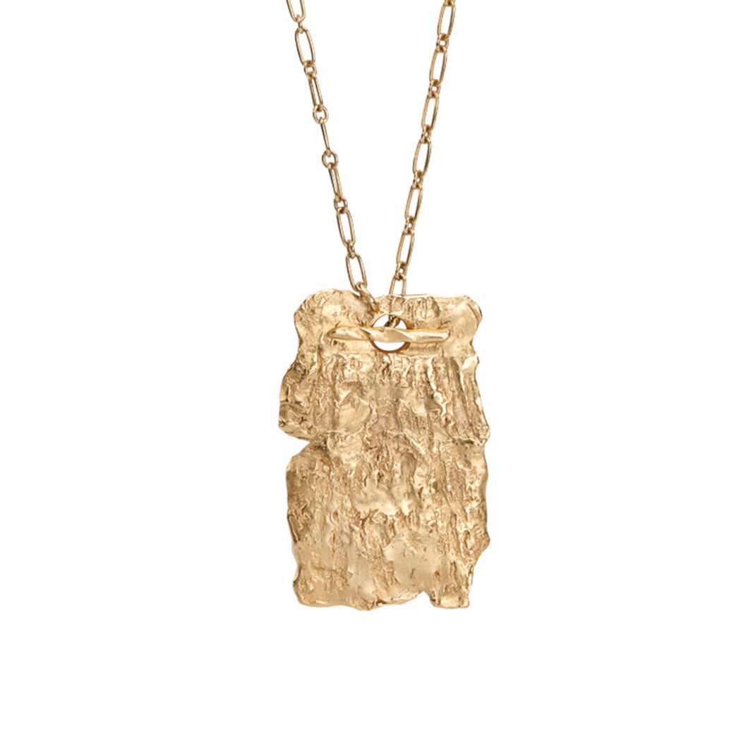 Into the Woods sustainable Gold Necklace - Sigrun
