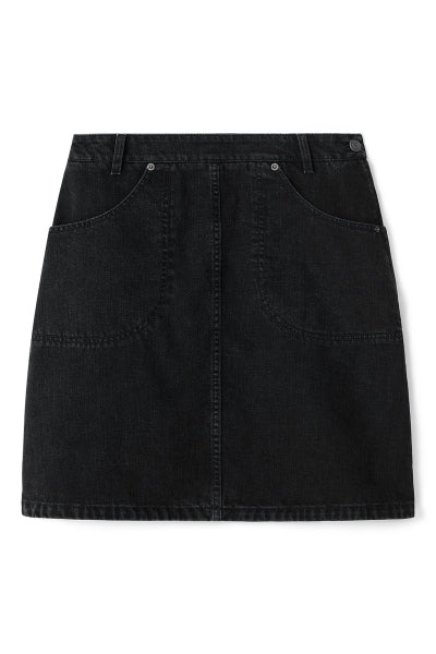 Kenzo - Denim Skirt Sort