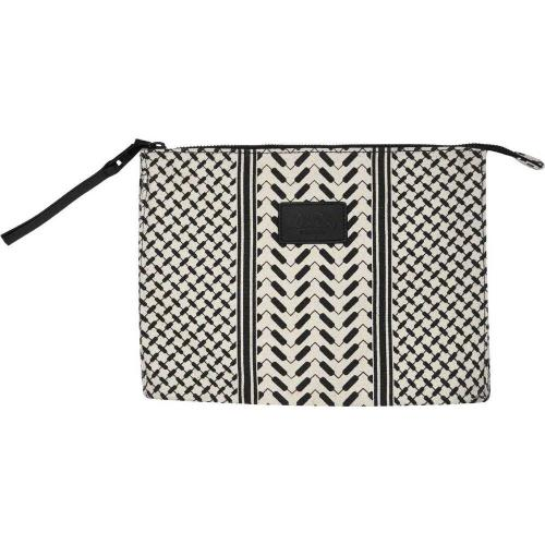 Pouch White/Black fra Lala Berlin