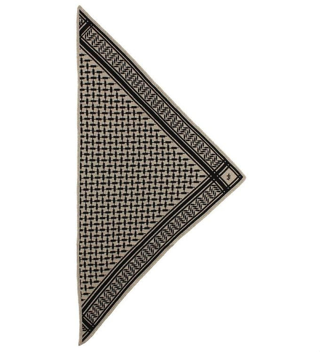 S Triangle Dune - Cashmere Scarf fra Lala Berlin