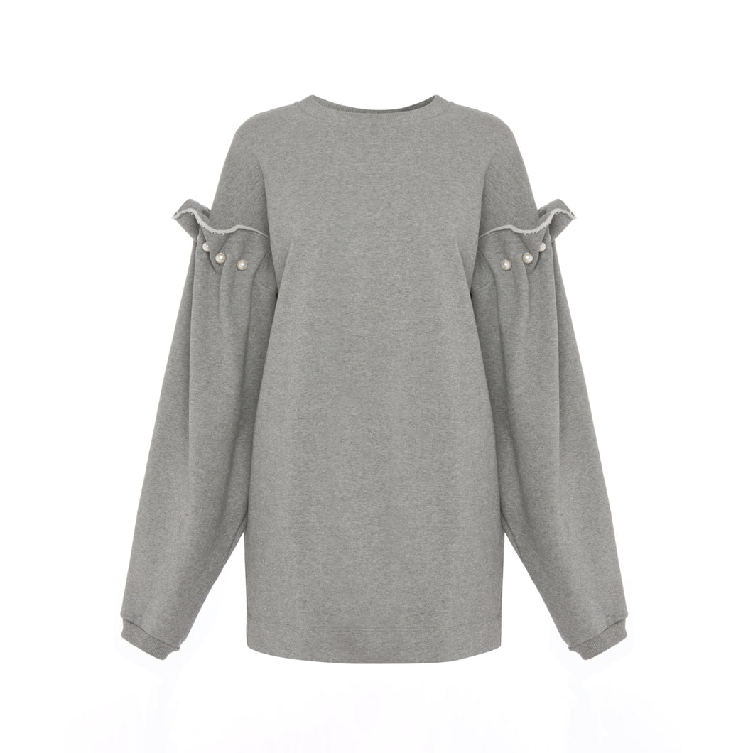 Darby Sweatshirt Grå fra Mother of Pearl