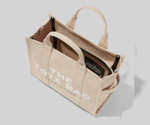 The Small Traveler Tote Bag Beige - Marc Jacobs
