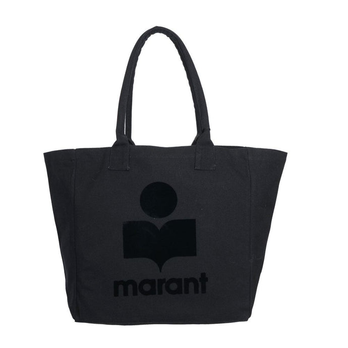Yenky Shopper i Sort med Logo - Isabel Marant
