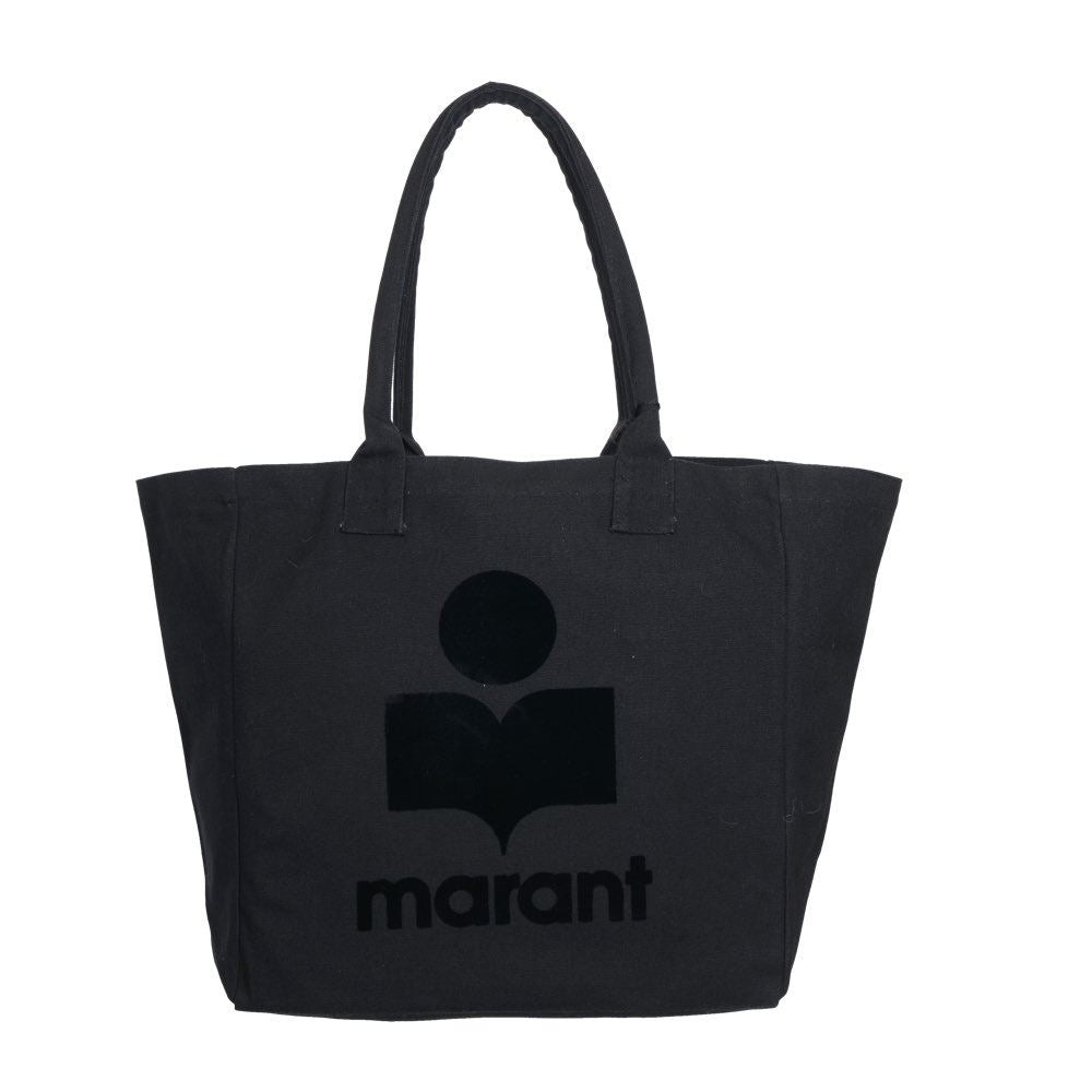 Isabel Marant - Yenky Shopper i Sort med Logo