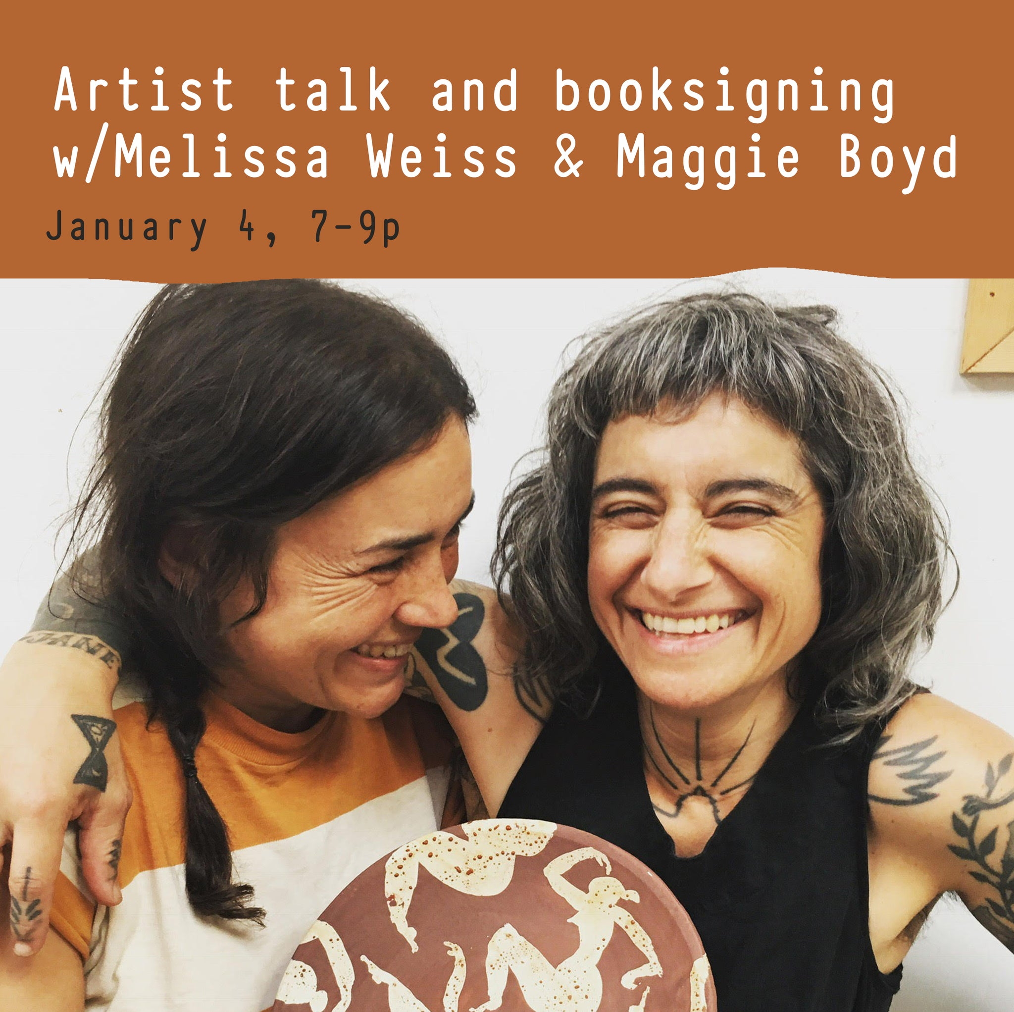 Artist Talk & Book Signing: w/Maggie Boyd and Melissa Weiss