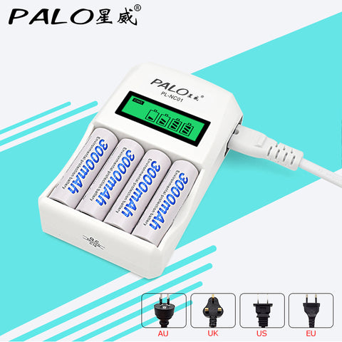 Smart Intelligent Battery Charger LCD Display