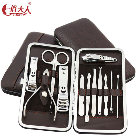 Nail Clipper Set with Case