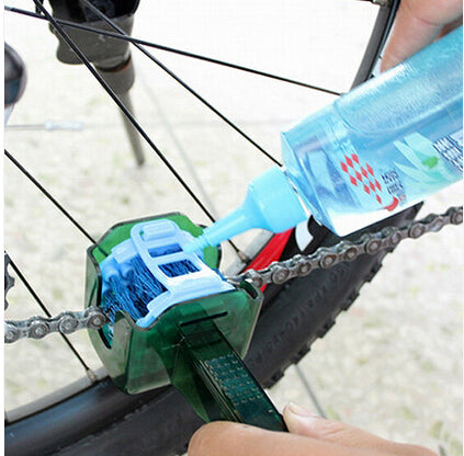 Bicycle Chain Cleaner Multi Tool Set