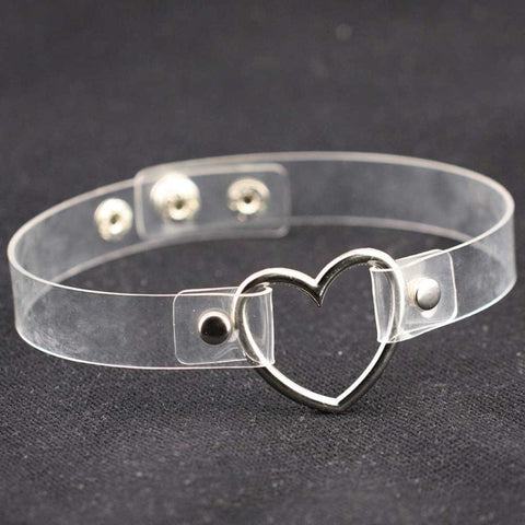 Charm Female Choker Heart Necklace