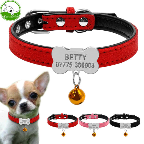 Personalized Dog Puppy Cat Collar