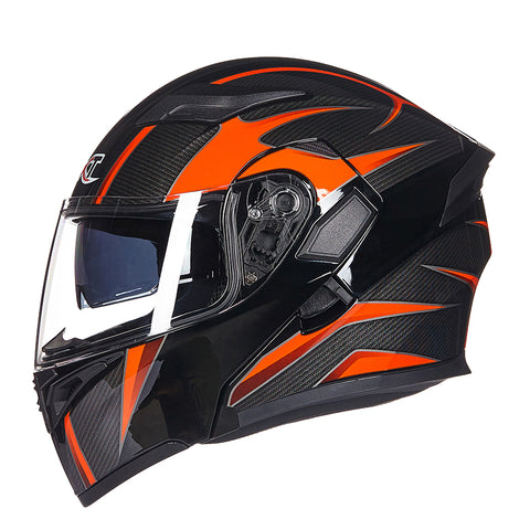 GXT Motorcycle Helmet Double Visor Full Face