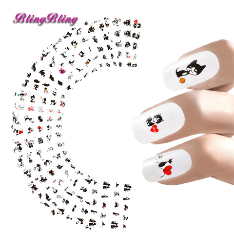 Nail Art Stickers Water Transfers