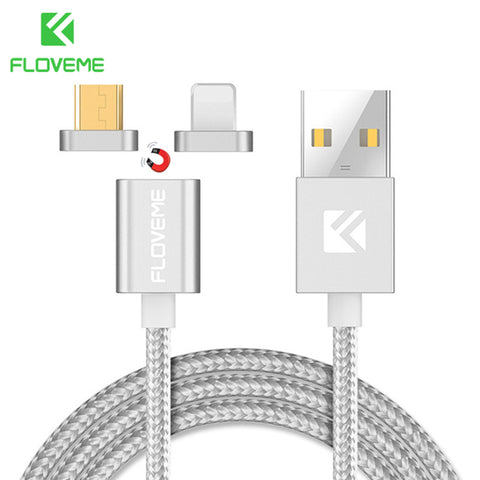 Magnetic Cable, Micro USB / Lightning Cable