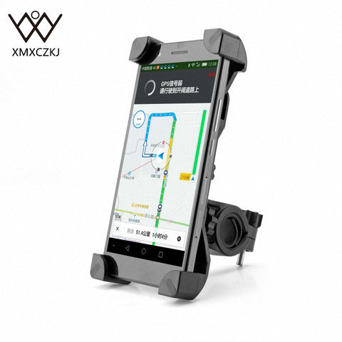 Anti-Slip Rotating Bicycle Phone Holder
