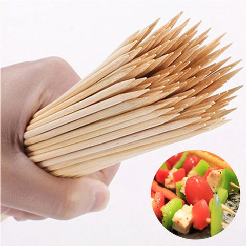 BBQ Bamboo Wood Skewers