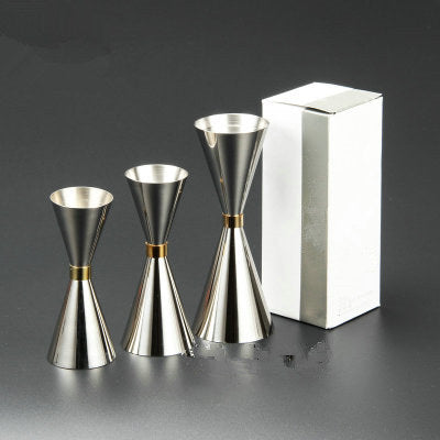 Stainless Steel Short Measuring Cups