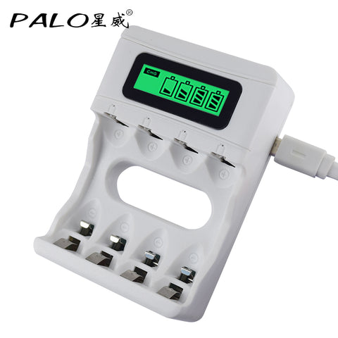 LCD Display Fast Intelligent Battery Charger