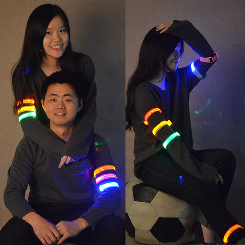 Night Running Safety Jogging Light, Arm, Leg Warning Band