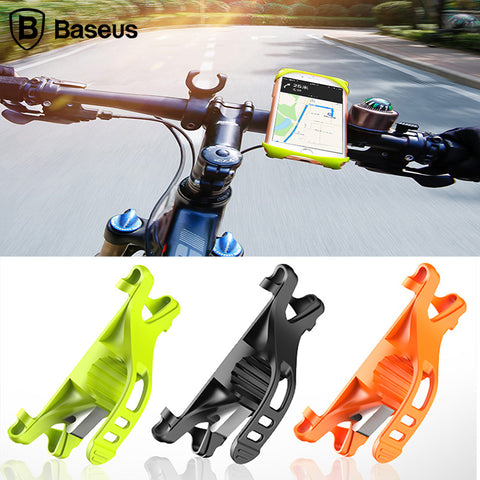 Flexible Bicycle Phone Holder Support GPS